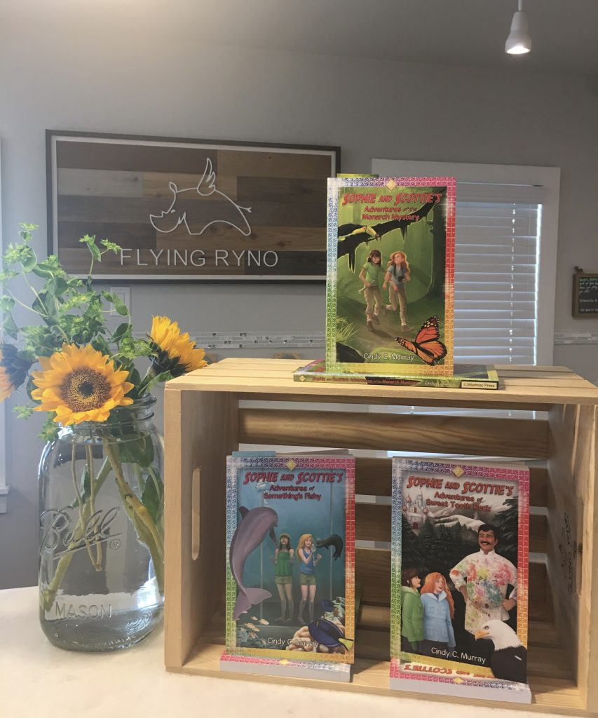 Book Series NOW at Flying Ryno Kids Shop!
