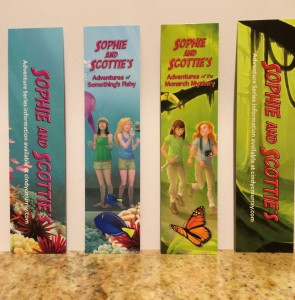 Sophie and Scottie Bookmarks