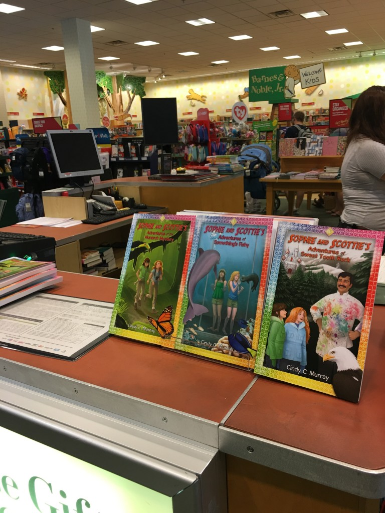 Barnes and Noble Now Carries Book Series