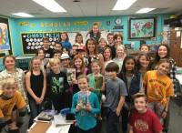 Dena Glynns 4-5 class 2017