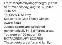 Family Choice Scores for books