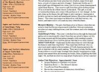 Author visit info sheet