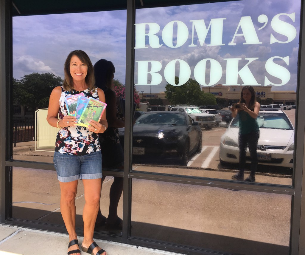 Roma's Books in Rockwall, TX