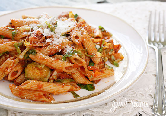 Pasta in Special Red Sauce!