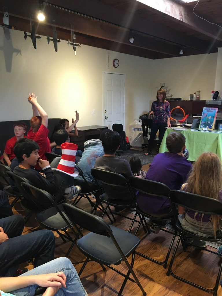 Author Visit with SDCH Group