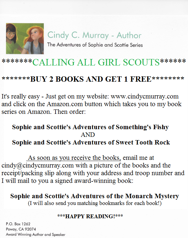 GIRL SCOUTS OF AMERICA BOOK DEAL