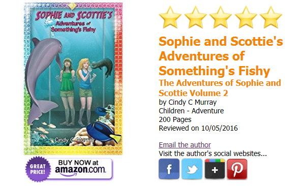 Sophie and Scottie's Adventures of Something's Fishy receives 5-Star Review!