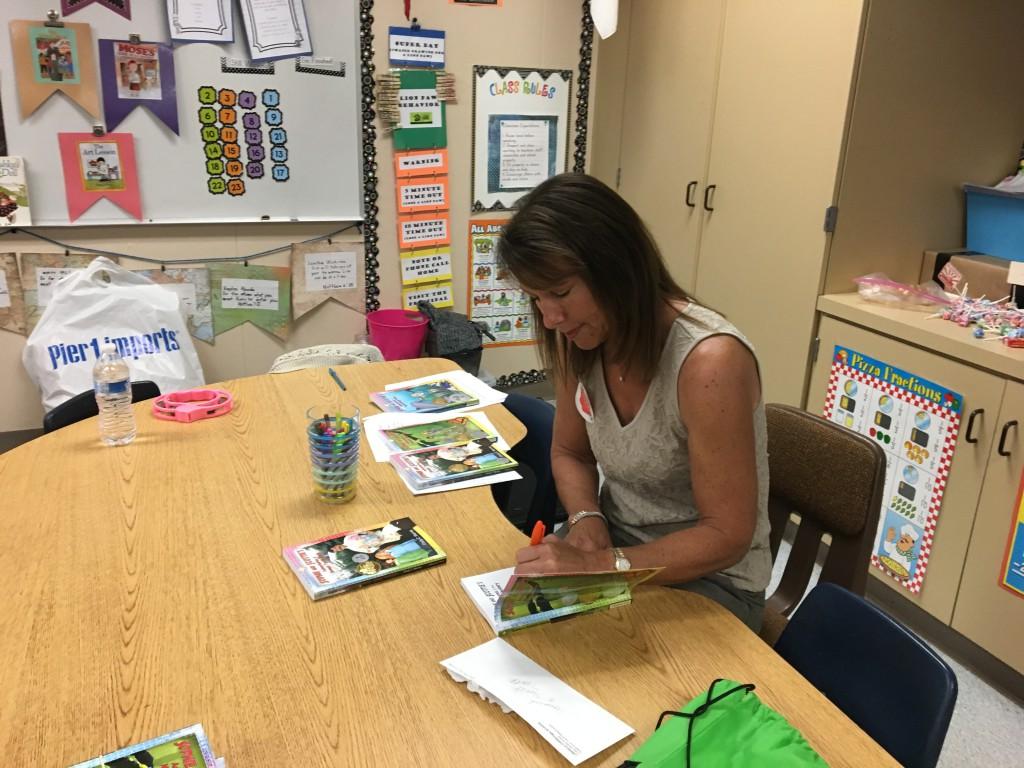 Linfield Christian School Author Visit